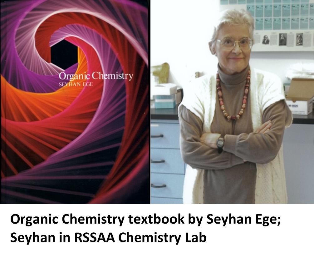 Seyhan Ege Chemistry Book