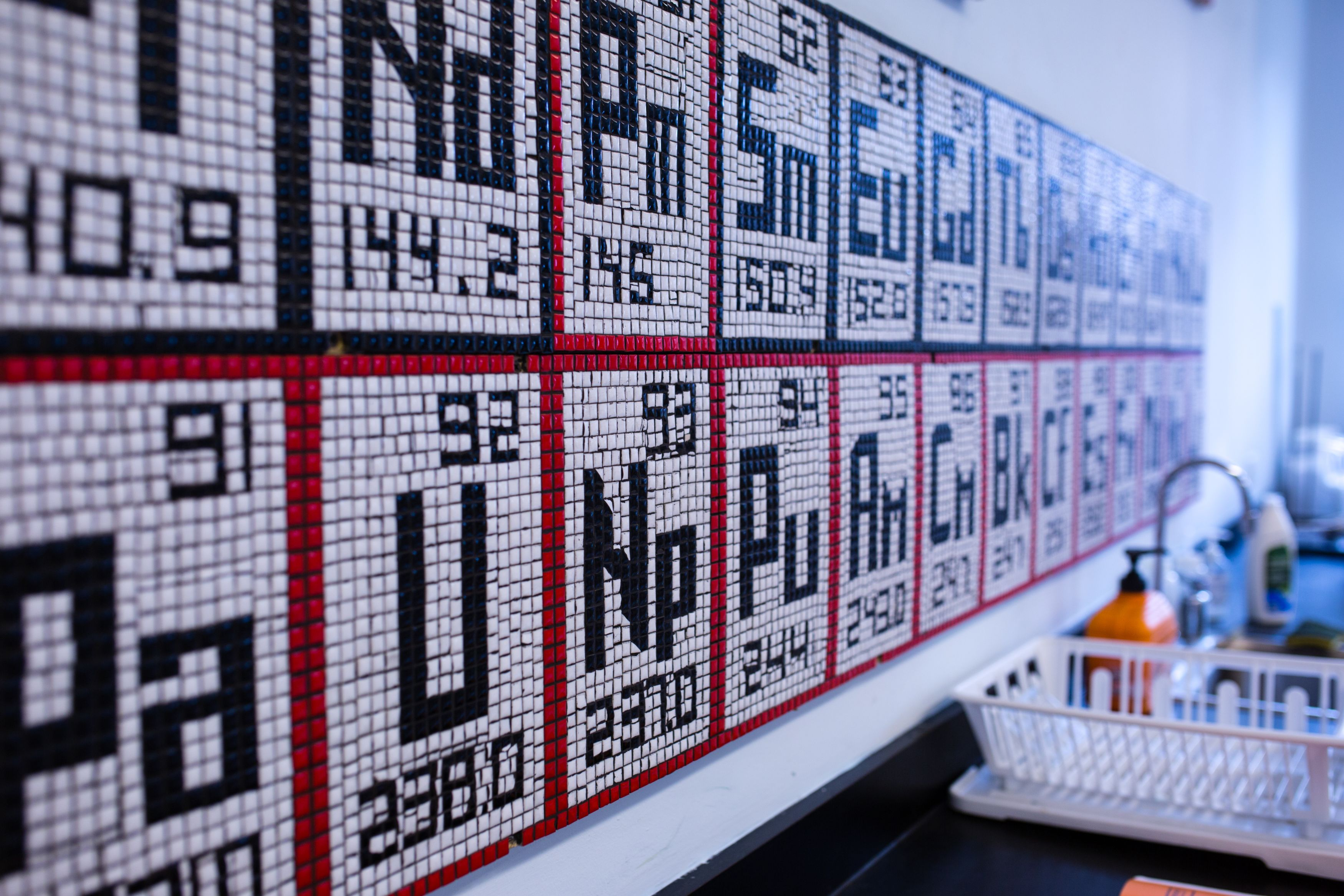 Mosaic Periodic Table