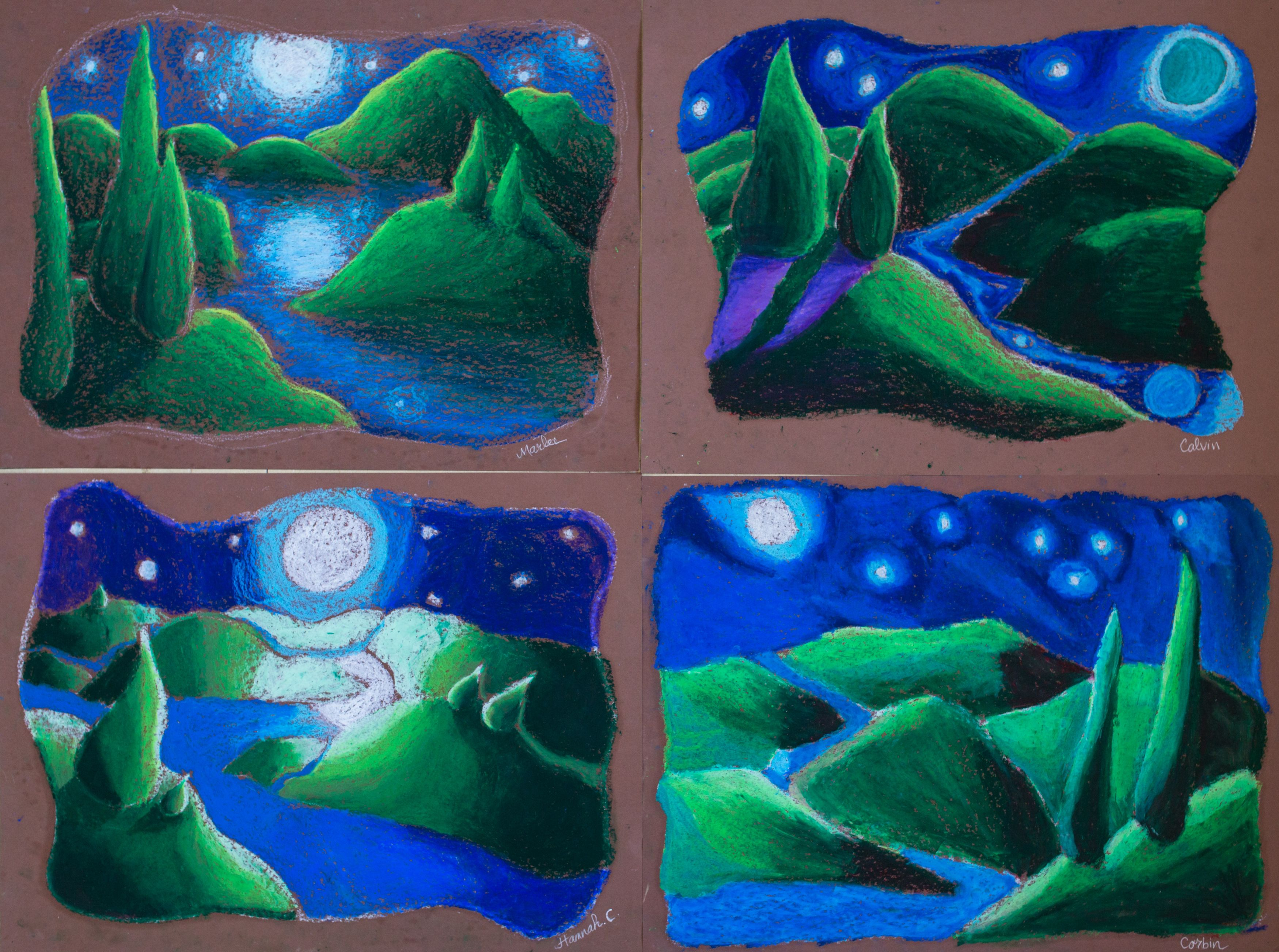 Pastels Art