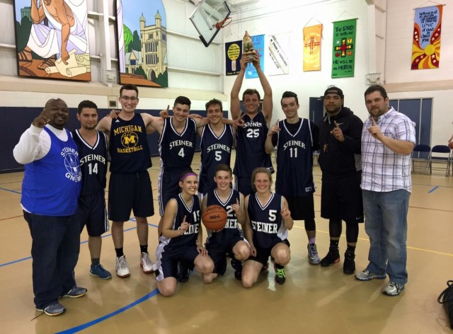 Alum basketball game