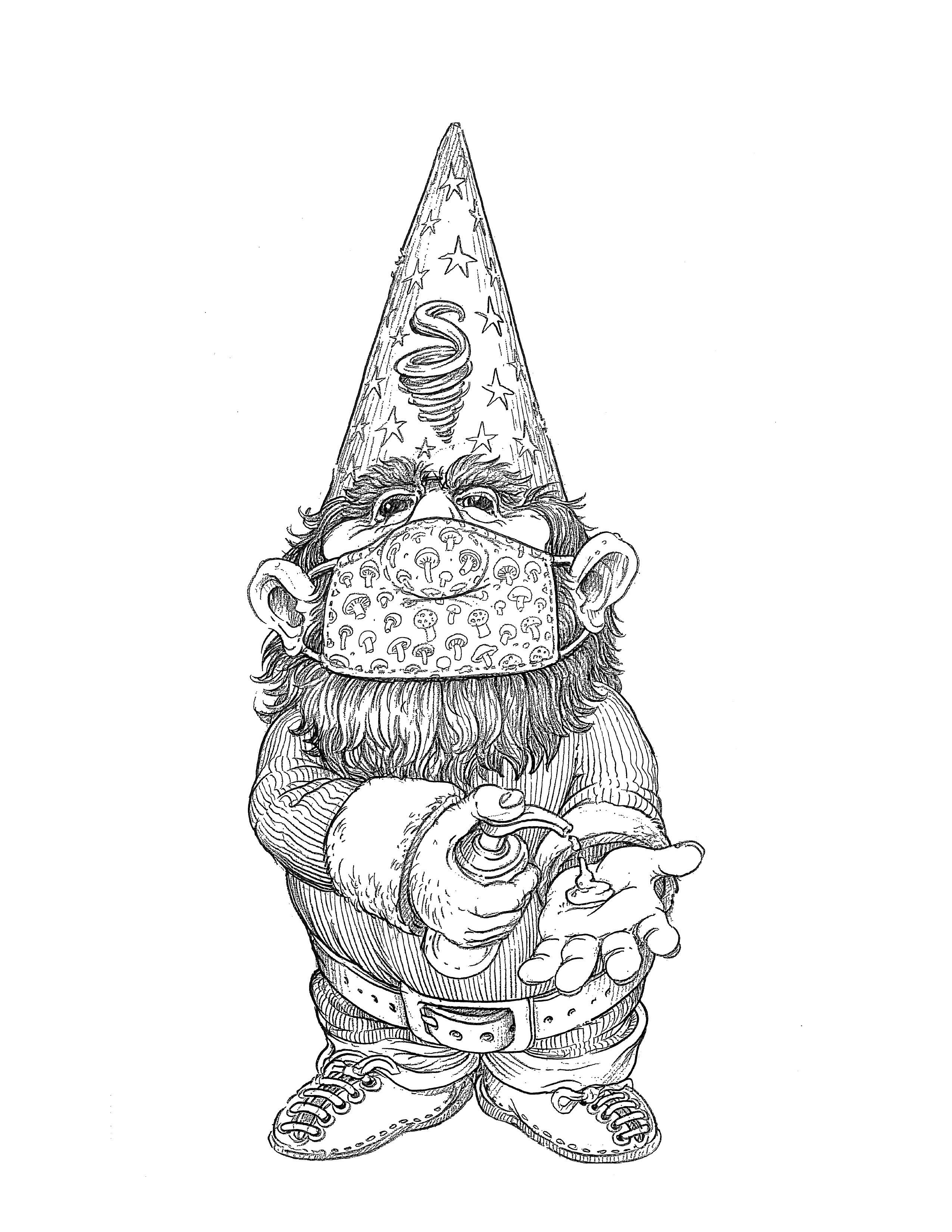Covid Gnome
